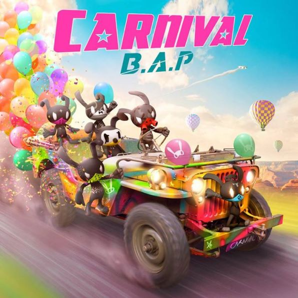 Carnival (5th Mini Album) - B.A.P (Honourable Mention)