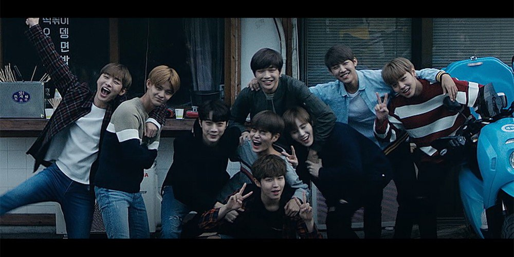 Review beautiful wanna one kpopreviewed wanna one have officially made their highly anticipated return with beautiful and their repackaged mini album 1 10 nothing without you stopboris Choice Image