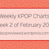 [Weekly Chart] 2nd Week of Feburary 2018