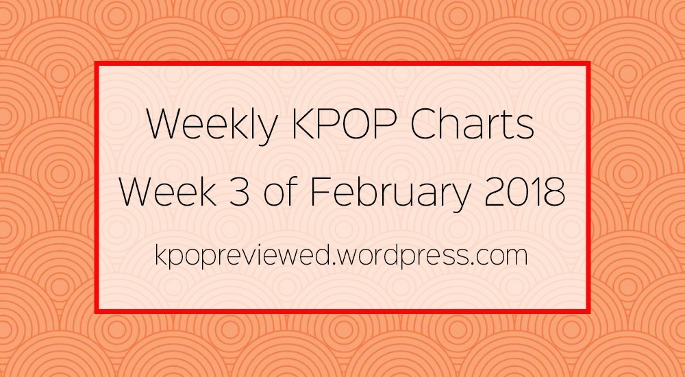 Weekly Chart] 3rd Week of February 2018 – KPOPREVIEWED