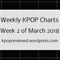 [Weekly Chart] Week 2 of March 2018
