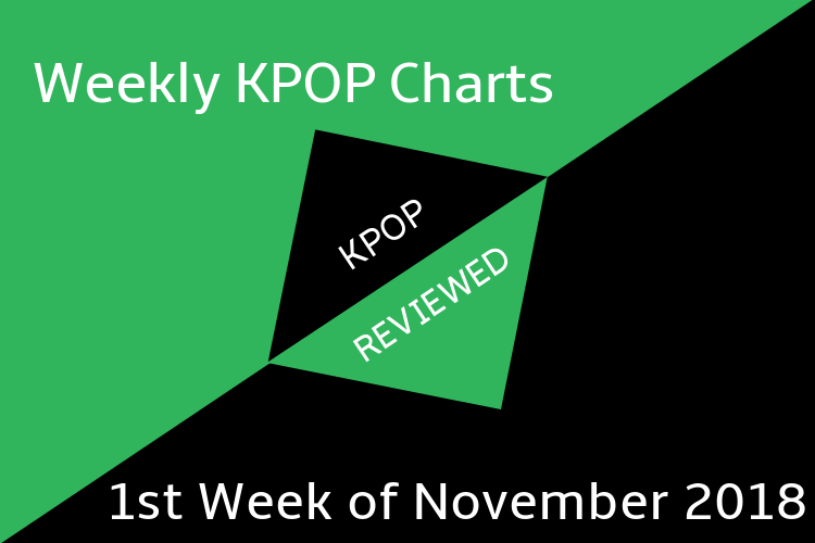 Weekly Chart] 1st Week of November 2018 – KPOPREVIEWED