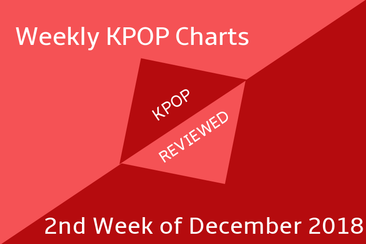 Weekly Chart] 2nd Week of December 2018 – KPOPREVIEWED