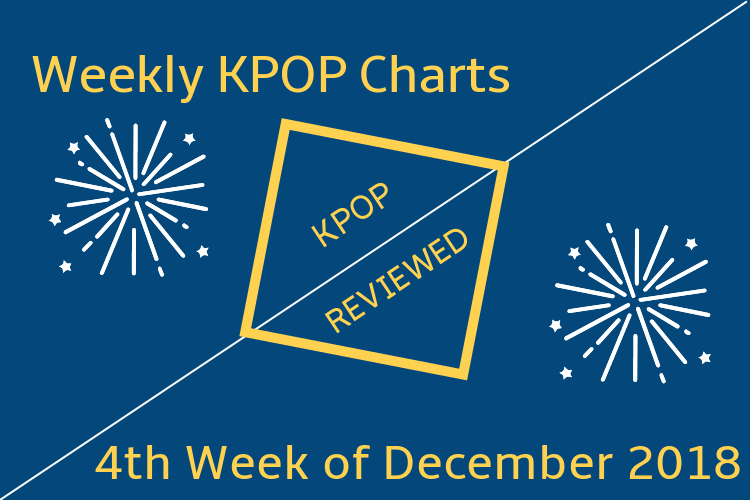 Weekly Chart] 4th Week of December 2018 & Happy New Year