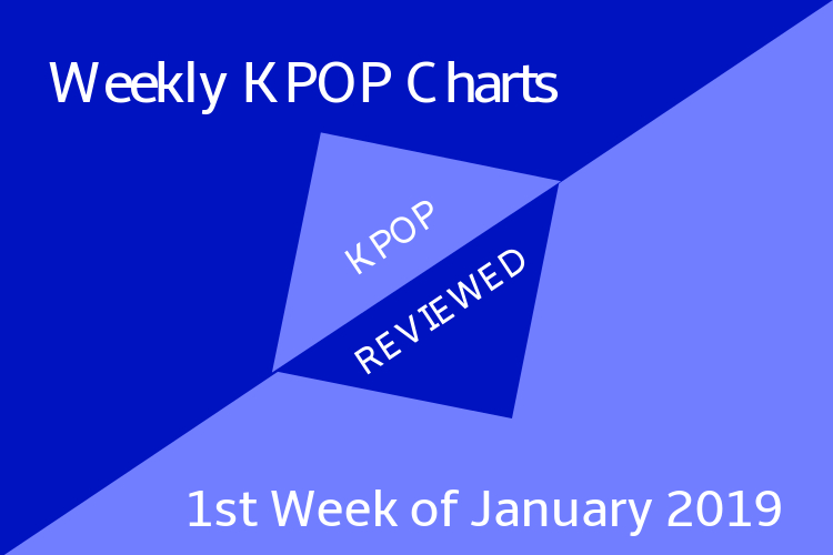 Weekly Chart] 1st Week of January 2019 – KPOPREVIEWED
