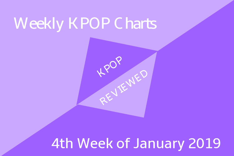 Weekly Chart] 4th Week of January 2019 – KPOPREVIEWED