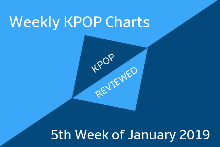 Weekly Chart] 5th Week of January 2019 – KPOPREVIEWED