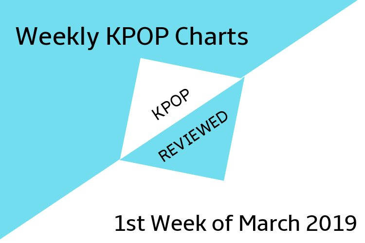 Weekly Charts] 1st Week of March 2019 – KPOPREVIEWED