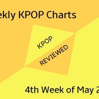 [Weekly Chart] 4th Week of May 2019