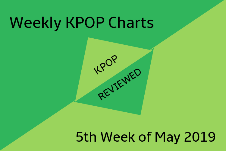 Weekly Chart] 5th Week of May 2019 – KPOPREVIEWED