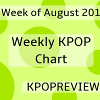 [Weekly Chart] 3rd Week of August 2019