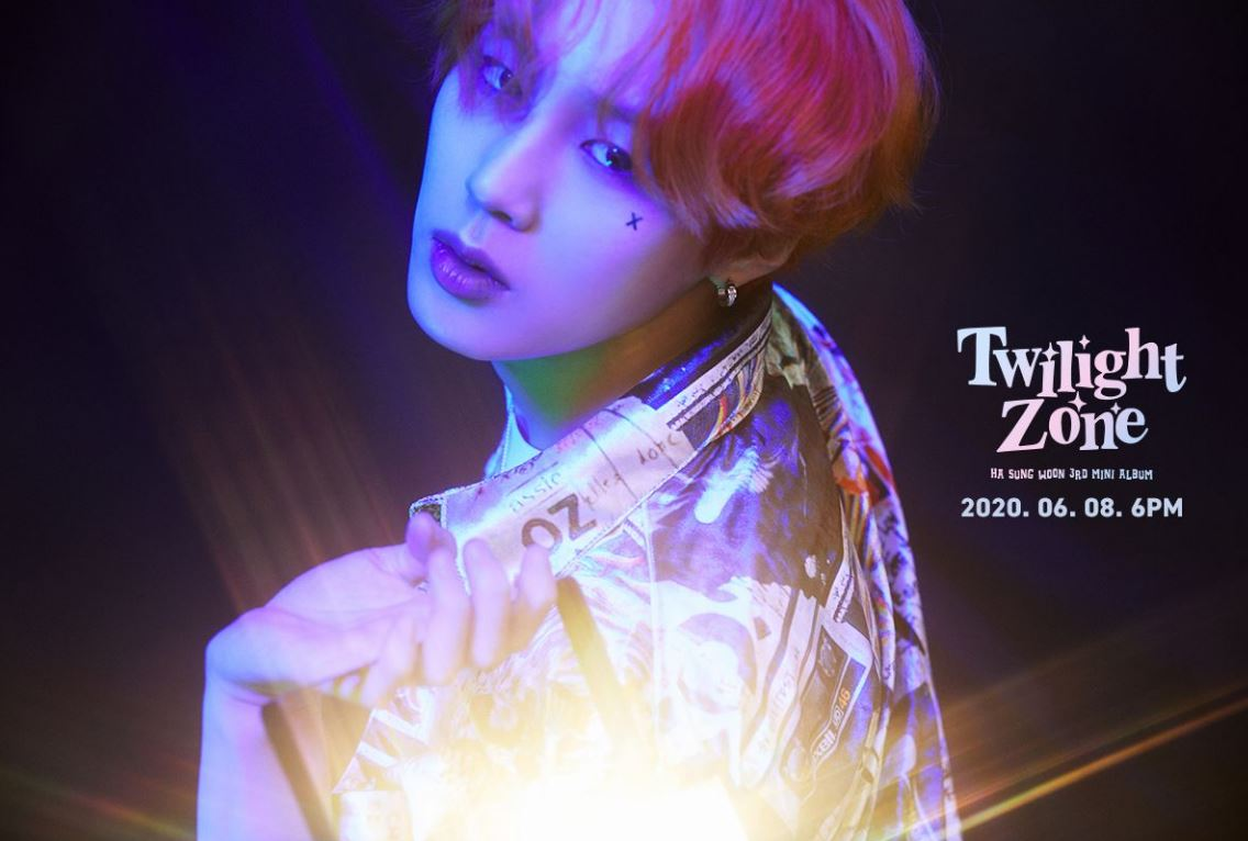 Feature Image of Ha Sung Woon's Album, Twilight Zone