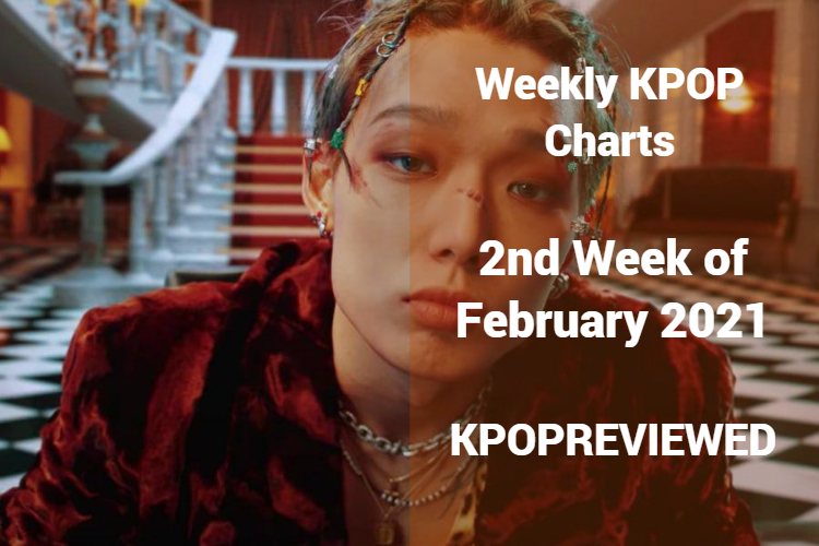 Weekly Chart 2nd Week of February 2021 - Kpop Review ...